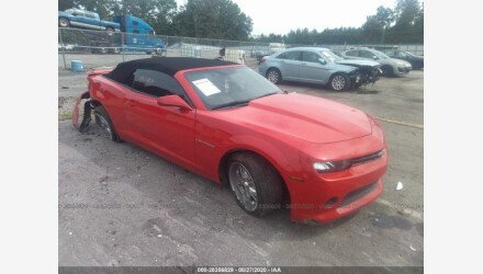 2015 Chevrolet Camaro LT Convertible for sale 101454958