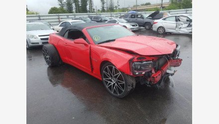 2015 Chevrolet Camaro LT Convertible for sale 101461600