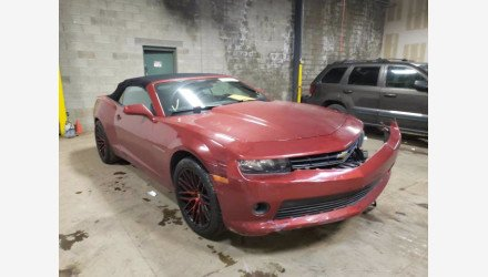 2015 Chevrolet Camaro LT Convertible for sale 101463961