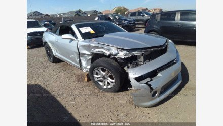 2015 Chevrolet Camaro LT Convertible for sale 101464862