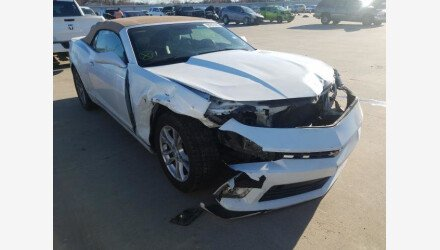 2015 Chevrolet Camaro LT Convertible for sale 101465809