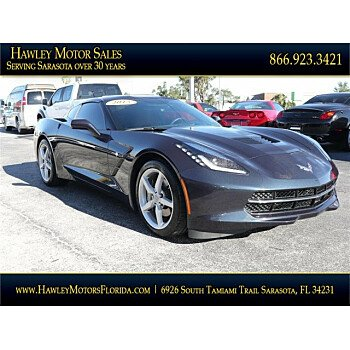 2015 Chevrolet Corvette Coupe for sale 101084183