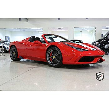2015 Ferrari 458 Italia Speciale A Spider for sale 101216830