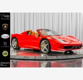 2015 Ferrari 458 Italia Spider for sale 101387455
