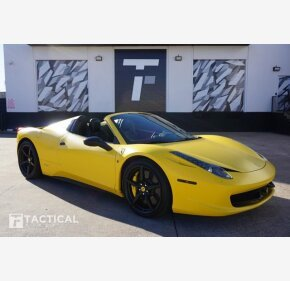 2015 Ferrari 458 Italia Spider for sale 101418323