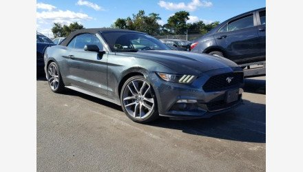 2015 Ford Mustang Convertible for sale 101112563