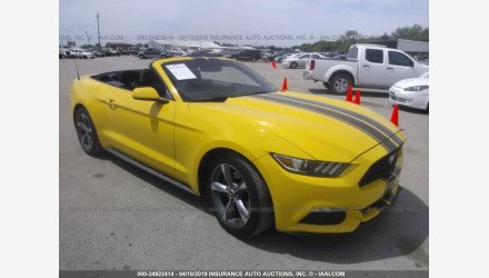 2015 Ford Mustang Convertible for sale 101123519
