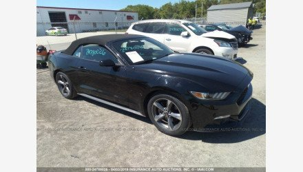 2015 Ford Mustang Convertible for sale 101126386