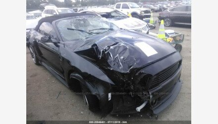 2015 Ford Mustang Convertible for sale 101191598