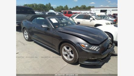 2015 Ford Mustang Convertible for sale 101192480