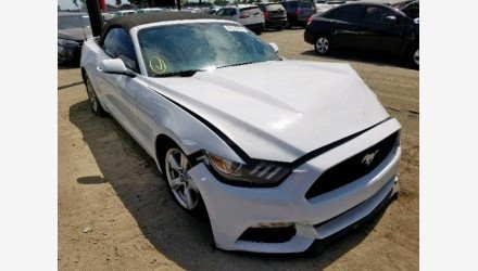 2015 Ford Mustang Convertible for sale 101206657