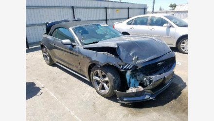 2015 Ford Mustang Convertible for sale 101206747
