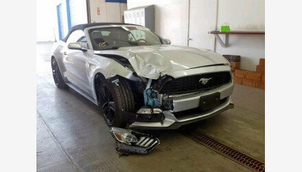 2015 Ford Mustang Convertible for sale 101207913