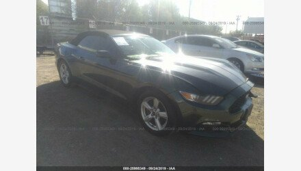 2015 Ford Mustang Convertible for sale 101218789