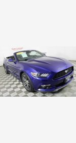 2015 Ford Mustang Convertible for sale 101221855