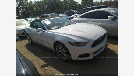 2015 Ford Mustang Convertible for sale 101223976