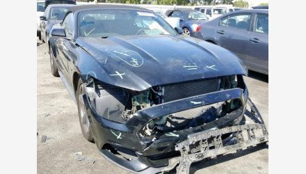 2015 Ford Mustang Convertible for sale 101225790