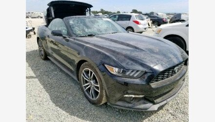 2015 Ford Mustang Convertible for sale 101225796