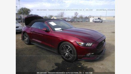 2015 Ford Mustang Convertible for sale 101236024
