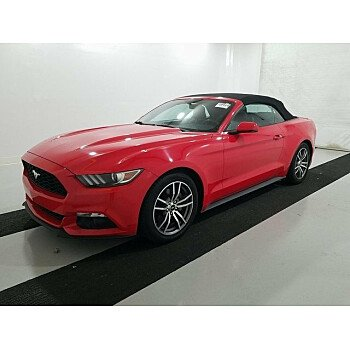 2015 Ford Mustang Convertible for sale 101250926