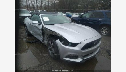 2015 Ford Mustang Convertible for sale 101293293