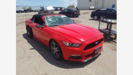 2015 Ford Mustang Convertible for sale 101361710