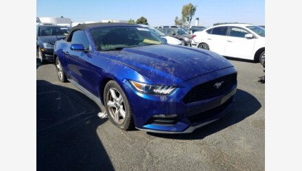 2015 Ford Mustang Convertible for sale 101408205