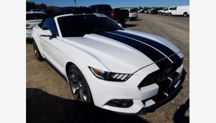 2015 Ford Mustang Convertible for sale 101416834