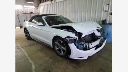 2015 Ford Mustang Convertible for sale 101464076