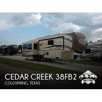2015 Forest River Cedar Creek for sale 300185121