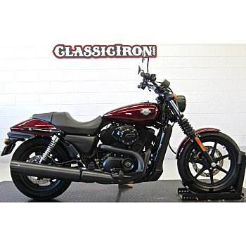 2015 Harley-Davidson Street 500 for sale 200711521