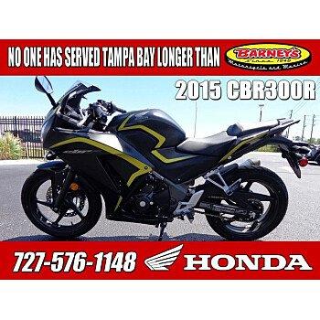 2015 Honda CBR300R for sale 200700203