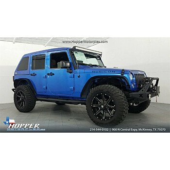 2015 Jeep Wrangler 4WD Unlimited Rubicon for sale 101072038