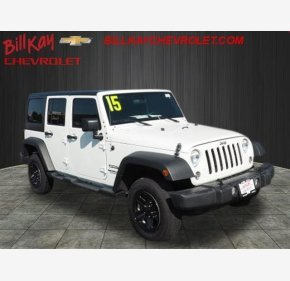 2015 Jeep Wrangler 4WD Unlimited Sport for sale 101010171