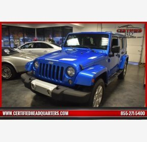 2015 Jeep Wrangler 4WD Unlimited Sahara for sale 101052839