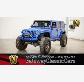 2015 Jeep Wrangler 4WD Unlimited Rubicon for sale 101082287