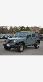 2015 Jeep Wrangler 4WD Unlimited Rubicon for sale 101100926