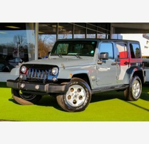 2015 Jeep Wrangler 4WD Unlimited Sahara for sale 101108214