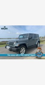 2015 Jeep Wrangler 4WD Unlimited Sahara for sale 101183058