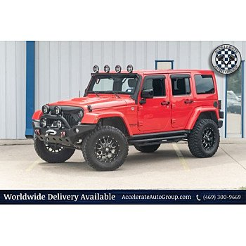 2015 Jeep Wrangler 4WD Unlimited Sahara for sale 101184838