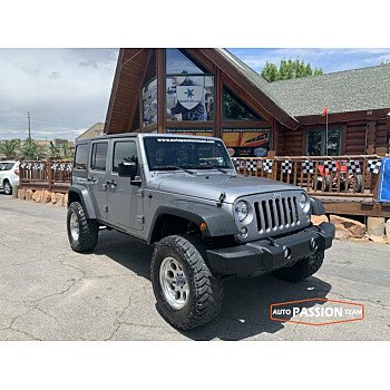 2015 Jeep Wrangler 4WD Unlimited Sport for sale 101197057