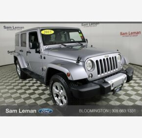 2015 Jeep Wrangler 4WD Unlimited Sahara for sale 101205636