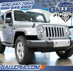 2015 Jeep Wrangler 4WD Sahara for sale 101207114