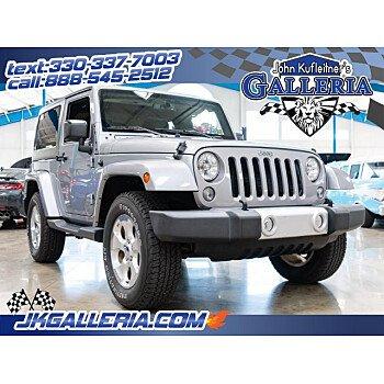 2015 Jeep Wrangler 4WD Sahara for sale 101207114