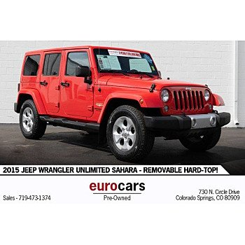 2015 Jeep Wrangler 4WD Unlimited Sahara for sale 101209586