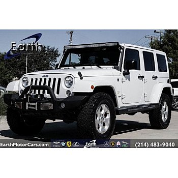 2015 Jeep Wrangler 4WD Unlimited Sahara for sale 101211929