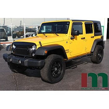 2015 Jeep Wrangler 4WD Unlimited Sport for sale 101213257