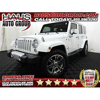 2015 Jeep Wrangler 4WD Unlimited Sahara for sale 101215495