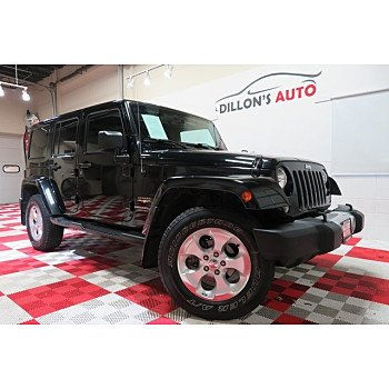 2015 Jeep Wrangler 4WD Unlimited Sahara for sale 101215607