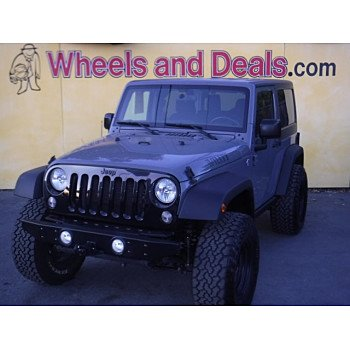 2015 Jeep Wrangler 4WD Sport for sale 101226507